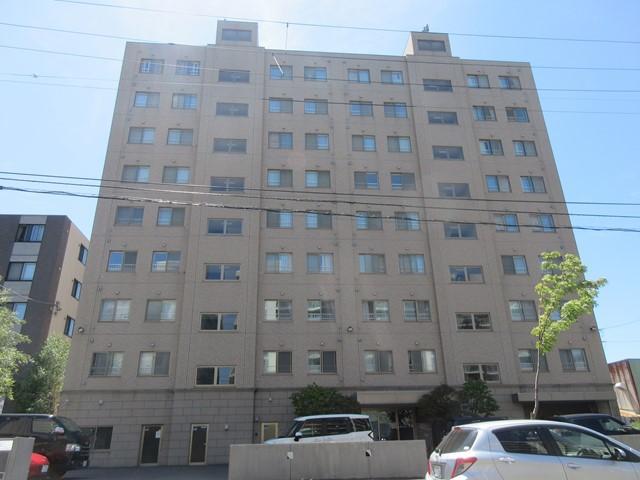 北海道札幌市厚別区、厚別駅徒歩20分の築11年 9階建の賃貸マンション