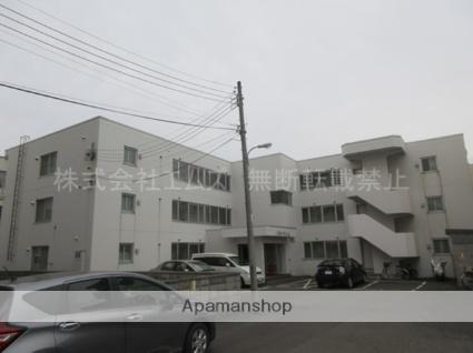 北海道札幌市厚別区、厚別駅徒歩5分の築32年 3階建の賃貸マンション