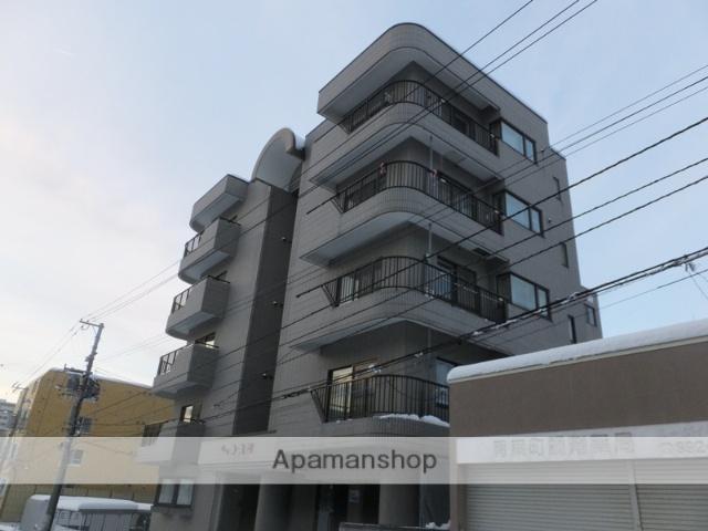 北海道札幌市厚別区、新札幌駅徒歩13分の築26年 5階建の賃貸マンション