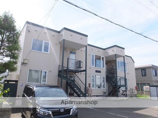 北海道札幌市白石区、平和駅徒歩15分の築26年 2階建の賃貸アパート