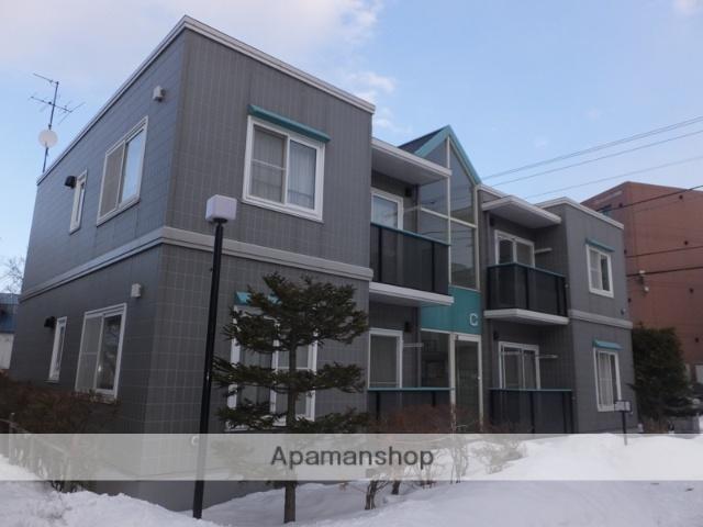 北海道札幌市厚別区、大谷地駅徒歩10分の築22年 2階建の賃貸アパート