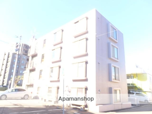 北海道札幌市厚別区、大谷地駅徒歩13分の築27年 4階建の賃貸マンション