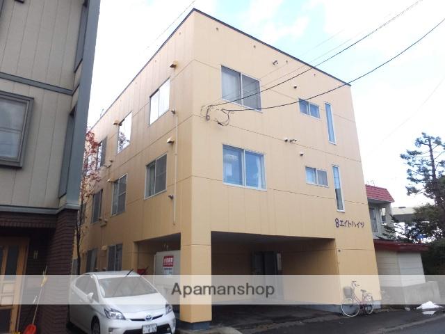 北海道札幌市白石区、平和駅徒歩17分の築29年 3階建の賃貸マンション