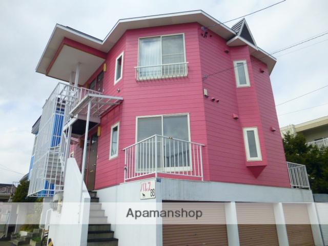 北海道札幌市白石区の築30年 2階建の賃貸アパート