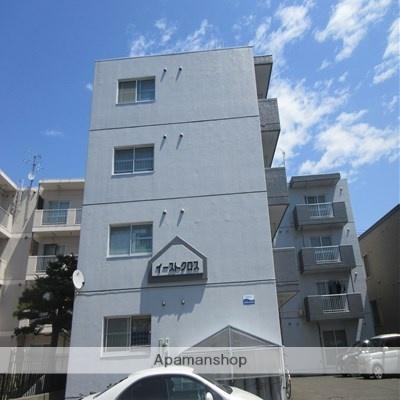 北海道札幌市厚別区、森林公園駅徒歩16分の築27年 4階建の賃貸マンション
