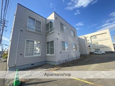 北海道札幌市厚別区、厚別駅徒歩17分の築26年 2階建の賃貸アパート