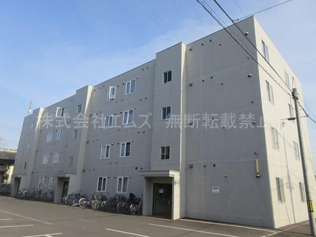 北海道札幌市厚別区、厚別駅徒歩6分の築29年 4階建の賃貸マンション