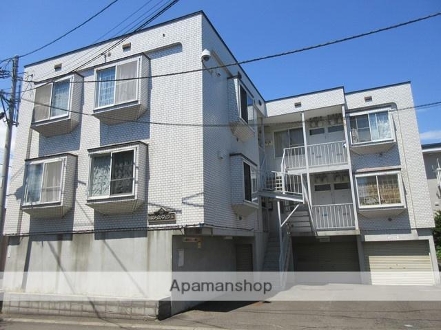 北海道札幌市厚別区、大谷地駅徒歩14分の築22年 3階建の賃貸アパート