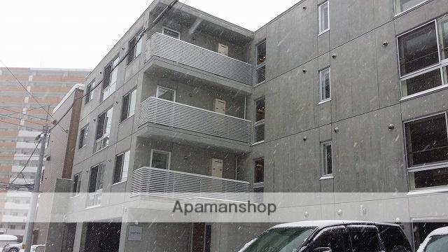 北海道札幌市白石区、菊水駅徒歩6分の築4年 4階建の賃貸マンション