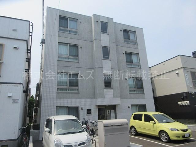北海道札幌市厚別区、南郷18丁目駅徒歩25分の築2年 4階建の賃貸マンション
