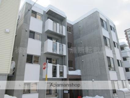 北海道札幌市厚別区、新札幌駅徒歩12分の新築 4階建の賃貸マンション