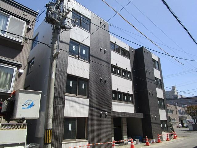 北海道札幌市白石区、菊水駅徒歩19分の新築 4階建の賃貸マンション