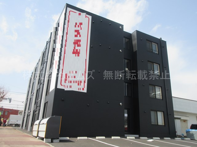 北海道北広島市、北広島駅徒歩12分の新築 4階建の賃貸マンション