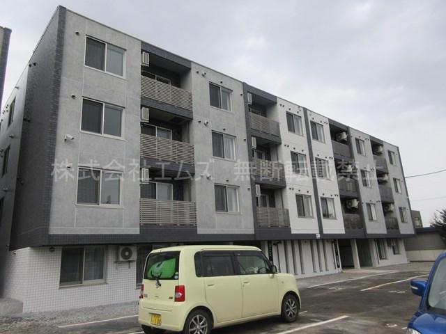 北海道札幌市厚別区、厚別駅徒歩4分の新築 4階建の賃貸マンション