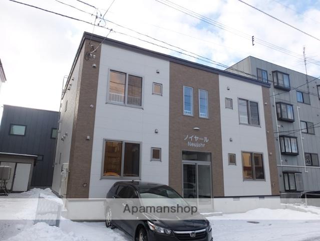 北海道札幌市白石区、東札幌駅徒歩16分の新築 2階建の賃貸アパート