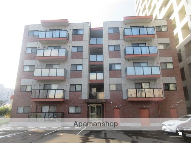北海道札幌市厚別区、新札幌駅徒歩11分の新築 5階建の賃貸マンション