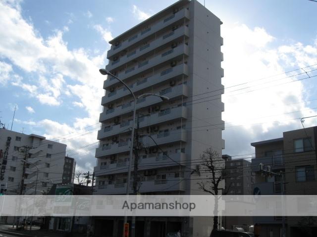北海道札幌市白石区、バスセンター前駅徒歩14分の築10年 11階建の賃貸マンション