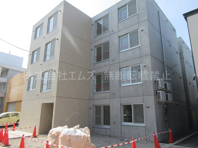 北海道札幌市厚別区、厚別駅徒歩7分の新築 4階建の賃貸マンション
