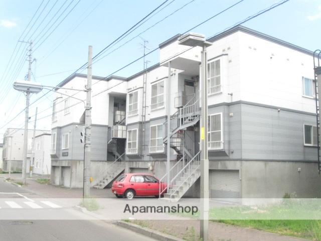 北海道札幌市白石区、白石駅徒歩19分の築25年 3階建の賃貸アパート