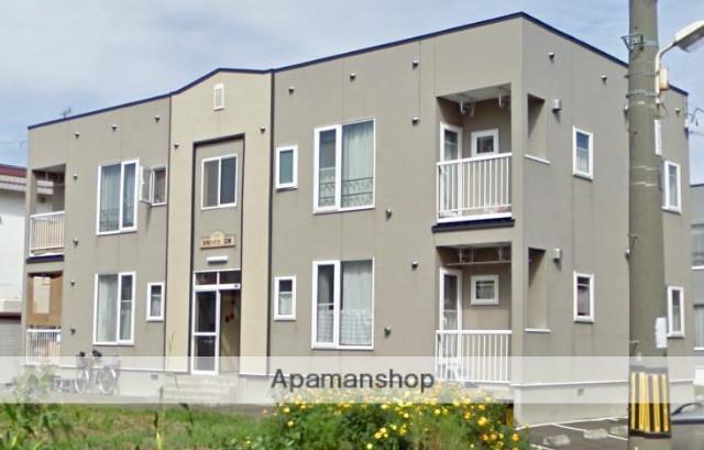 北海道札幌市白石区、白石駅徒歩20分の築17年 2階建の賃貸アパート