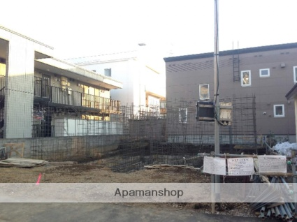 北海道札幌市白石区、白石駅徒歩16分の築2年 3階建の賃貸アパート