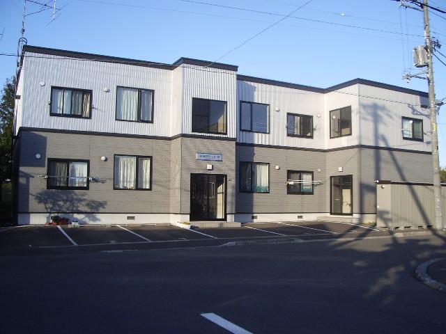 北海道札幌市白石区、平和駅徒歩18分の築14年 2階建の賃貸アパート