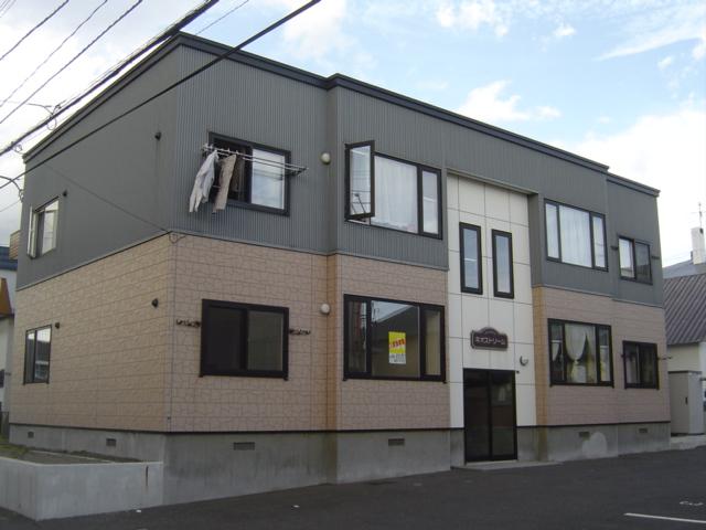 北海道札幌市白石区、厚別駅徒歩15分の築14年 2階建の賃貸アパート