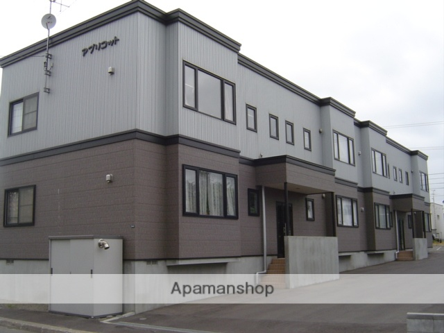 北海道札幌市厚別区、厚別駅徒歩13分の築14年 2階建の賃貸アパート
