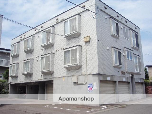 北海道札幌市厚別区、大谷地駅徒歩14分の築20年 3階建の賃貸アパート