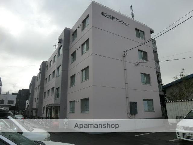 北海道札幌市白石区、白石駅中央バスバス11分中央1−4下車後徒歩4分の築31年 4階建の賃貸マンション