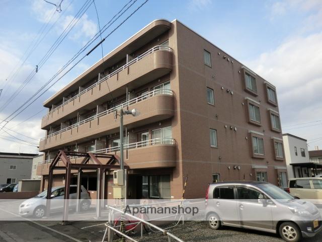 北海道札幌市白石区、東札幌駅徒歩14分の築22年 4階建の賃貸マンション