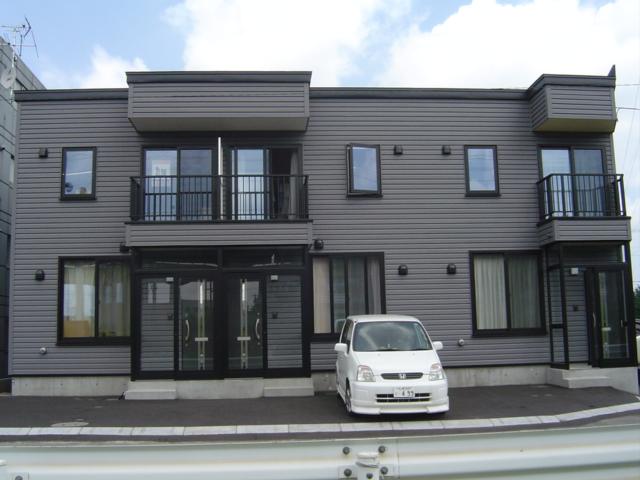 北海道札幌市白石区、厚別駅徒歩13分の築12年 2階建の賃貸テラスハウス