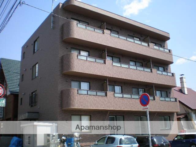 北海道札幌市厚別区、新札幌駅徒歩7分の築11年 4階建の賃貸マンション
