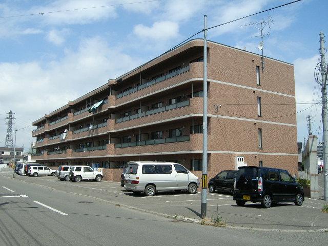 北海道札幌市白石区、白石駅徒歩19分の築16年 4階建の賃貸マンション