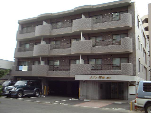 北海道札幌市豊平区、美園駅徒歩25分の築17年 4階建の賃貸マンション