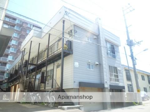 北海道札幌市豊平区、学園前駅徒歩18分の築37年 2階建の賃貸アパート