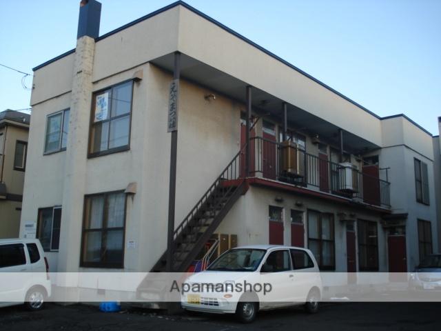 北海道札幌市白石区、平和駅徒歩17分の築34年 2階建の賃貸アパート