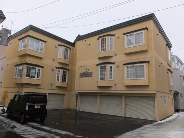 北海道札幌市中央区、苗穂駅徒歩14分の築24年 3階建の賃貸アパート