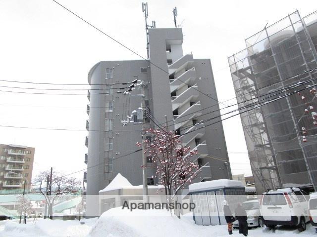 北海道札幌市豊平区、平岸駅徒歩14分の築23年 8階建の賃貸マンション