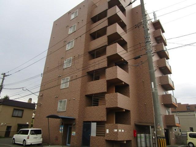 北海道札幌市白石区の築21年 7階建の賃貸マンション