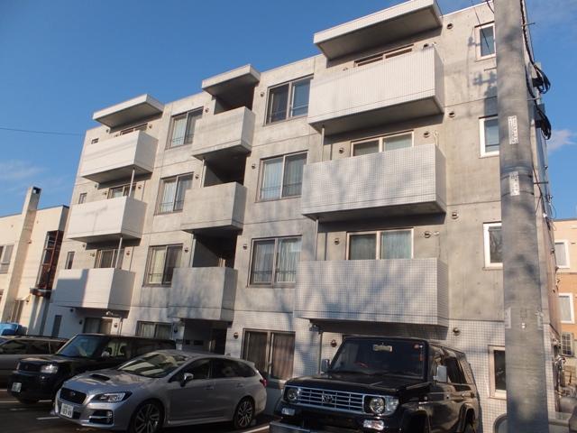 北海道札幌市豊平区、菊水駅徒歩8分の築5年 4階建の賃貸マンション