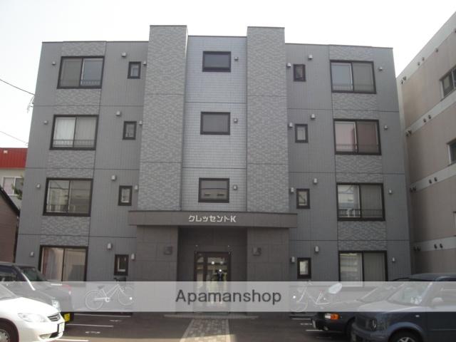 北海道札幌市豊平区、幌平橋駅徒歩14分の築13年 4階建の賃貸マンション