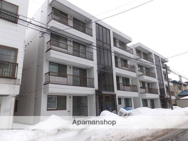 北海道札幌市白石区、東札幌駅徒歩15分の築27年 4階建の賃貸マンション