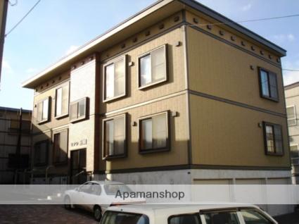 北海道札幌市白石区、白石駅徒歩16分の築13年 2階建の賃貸アパート