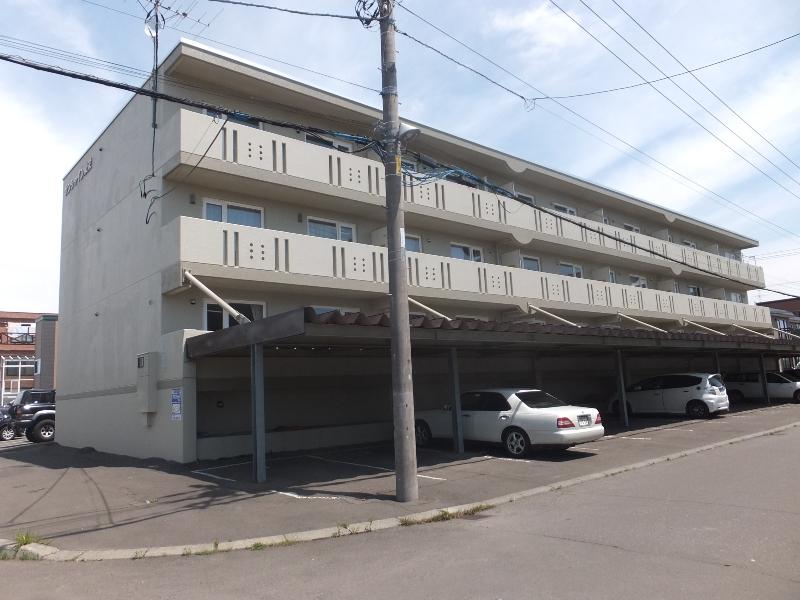 北海道札幌市白石区の築20年 3階建の賃貸マンション