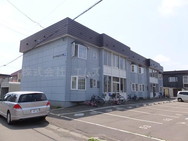 北海道札幌市白石区の築27年 2階建の賃貸アパート