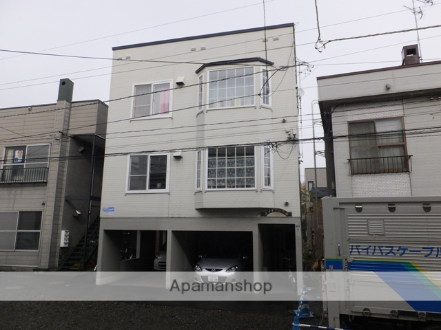 北海道札幌市白石区、菊水駅徒歩17分の築23年 3階建の賃貸アパート