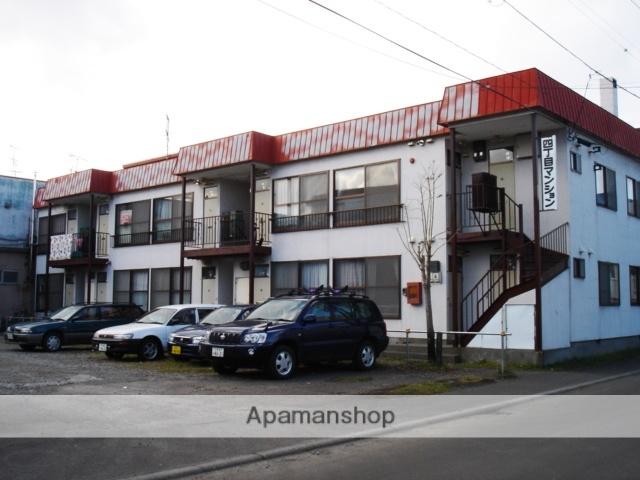 北海道札幌市白石区、白石駅徒歩10分の築28年 2階建の賃貸アパート