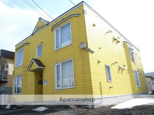 北海道札幌市白石区、白石駅徒歩11分の築29年 2階建の賃貸アパート