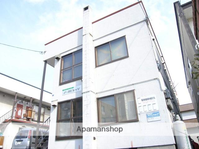 北海道札幌市白石区、平和駅徒歩13分の築36年 2階建の賃貸アパート
